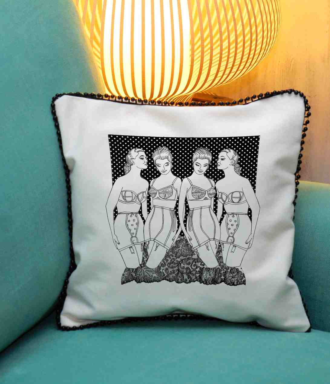 4 corsets cushion blog