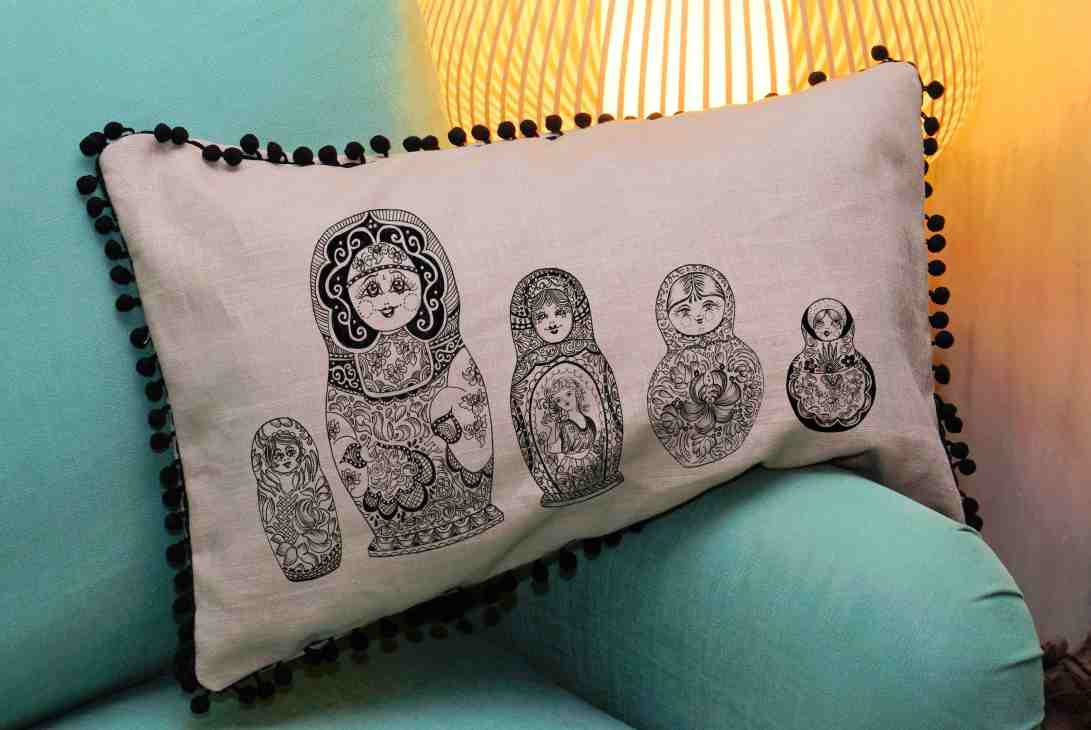 matroishka cushion blog