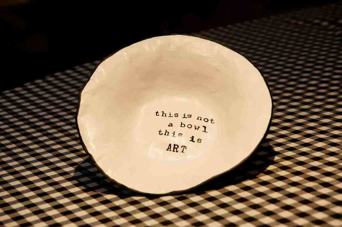 This is not a bowl blog