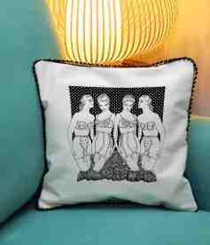 4 corsets cushion blog