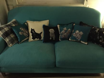 some plump new cushions
